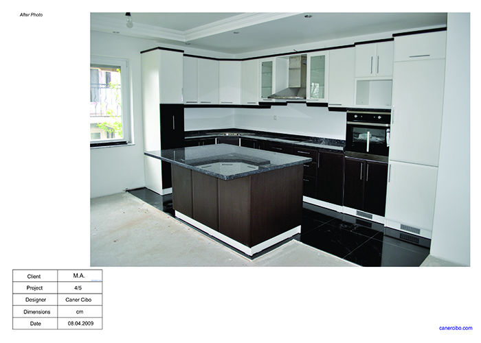 Kitchen design project